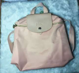 High Quality Longchamp backpack (pink)