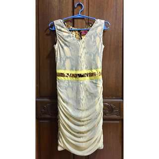 Louis Claparols Yellow Dress | Pre Loved