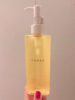 18年新版 THREE CLEANSING OIL THREE 肌能潔膚油