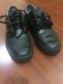 Janoski Black Anthracite Leather