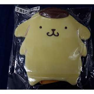 Pompompurin lucky draw small pouch with strap