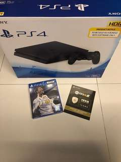 WTS- Brand New PS4 Slim 500GB + Fifa 18