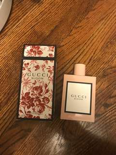 GUCCI BLOOM ONLY USED ONCE