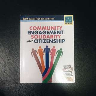 SHS BOOK: Community Engagement, Solidarity and Citizenship