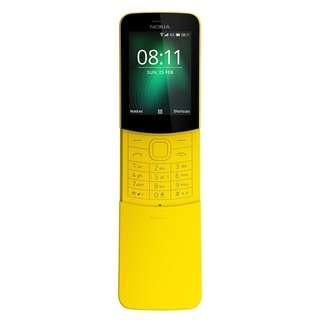 全新原封 Nokia 8110 4g 黃蕉