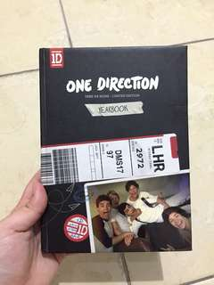 YEARBOOK ONE DIRECTION (1D)
