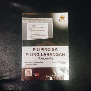 SHS BOOK: Filipino sa Piling Larangan (Akademik)