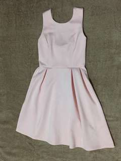 Baby Pink Ribbon Dress