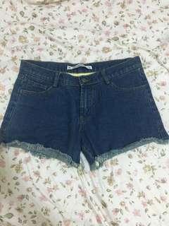 全新 牛仔短褲 尺寸L