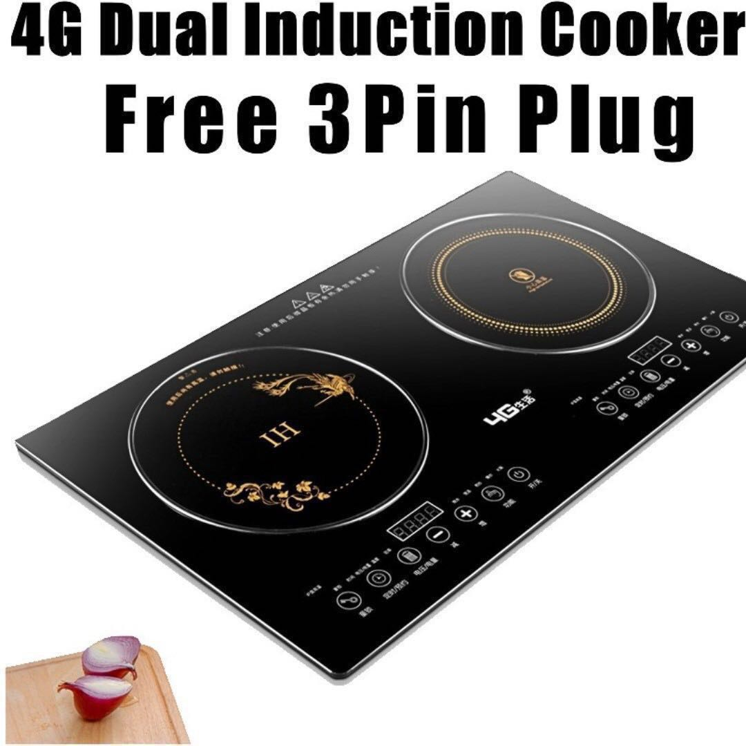 4g Induction Cooker Double Electric Cookerhp21electric Stove Circuit Board Buy Ceramic Free 3 Pin Plug Home Appliances Kitchenware On Carousell