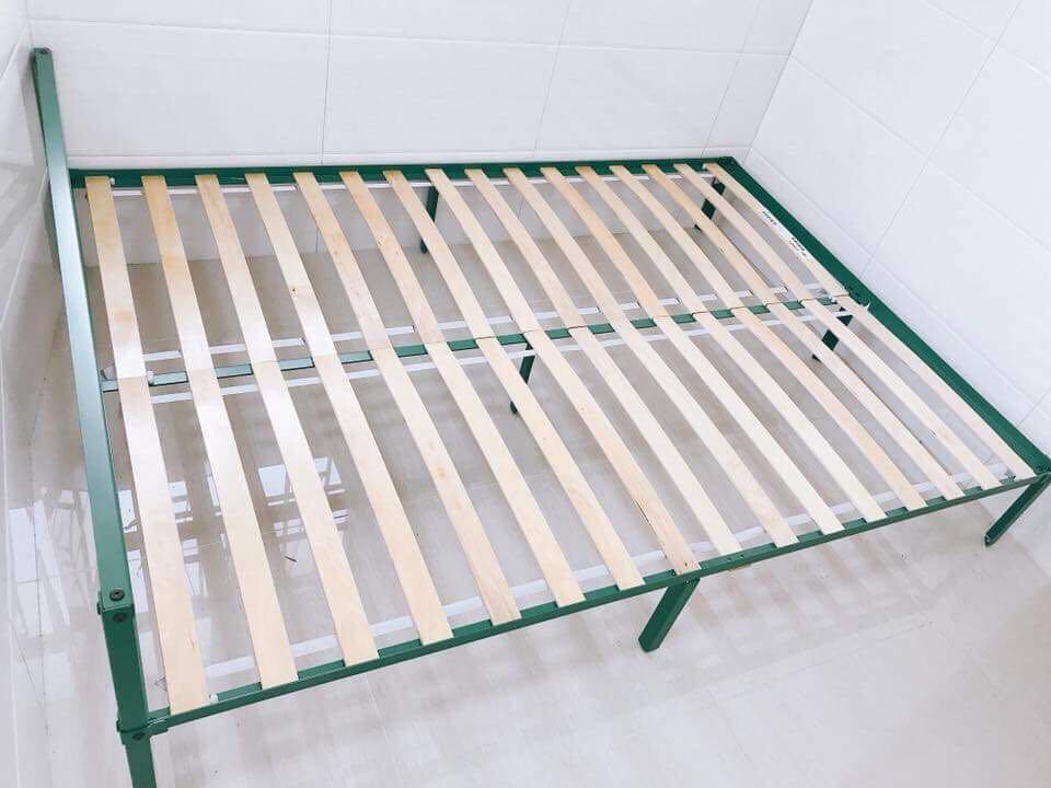 0eefd027b76d 99% new ikea grimsbu bed frame 床架