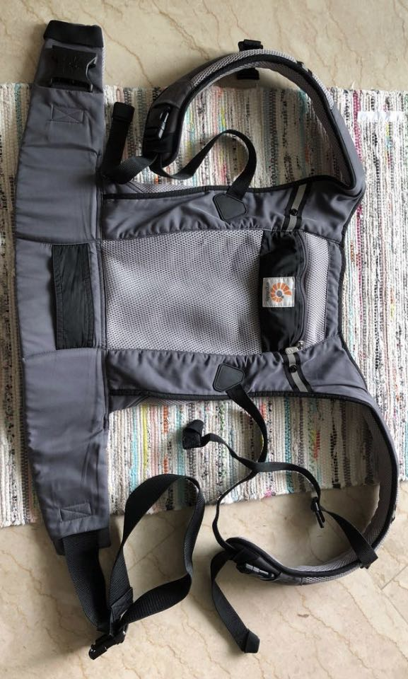 f6ed0cd807e 👶🏻 Ergobaby Performance Baby Carrier Graphite Ventus Authentic ...