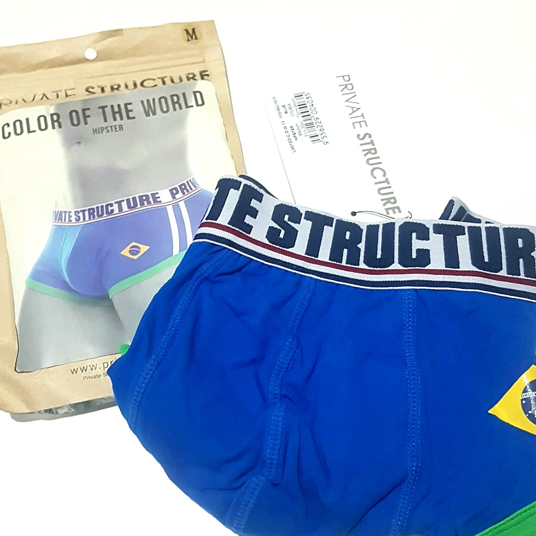 8449f925a61 Authentic PS COLOR OF THE WORLD - BRAZIL Hipster BLUE, Men's Fashion,  Clothes, Bottoms on Carousell