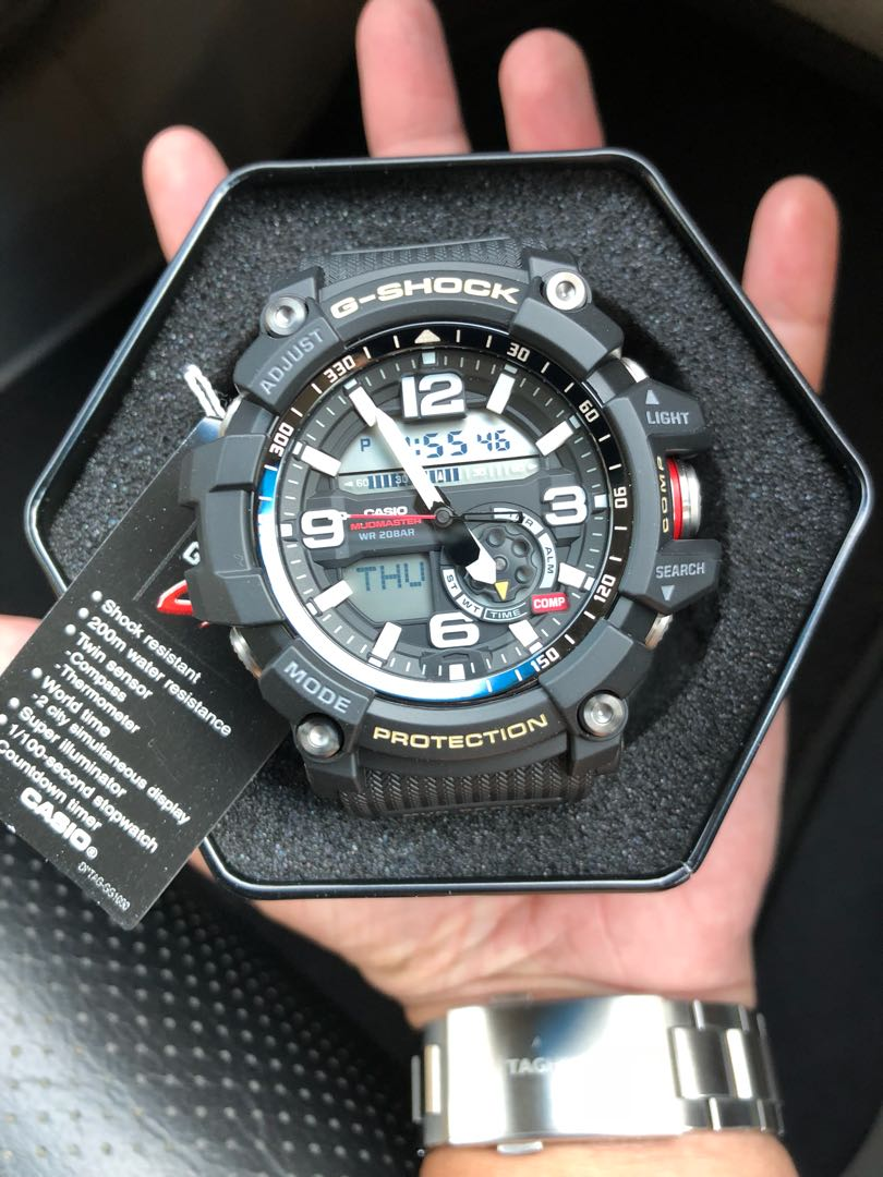 Authentic Original G Shock Gg 1000 Matte Black Series Casio Sale 1a Offer Brand New Full Box Limited Stock First Come Served Mens Fashion