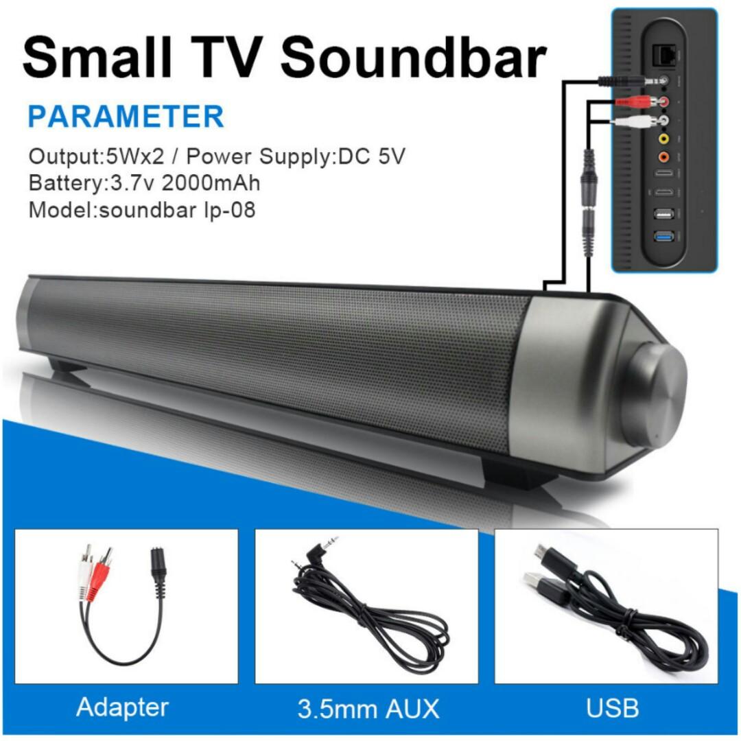 e2afc56287b AWESOME!! Mini TV Surround Sound Soundbar!!