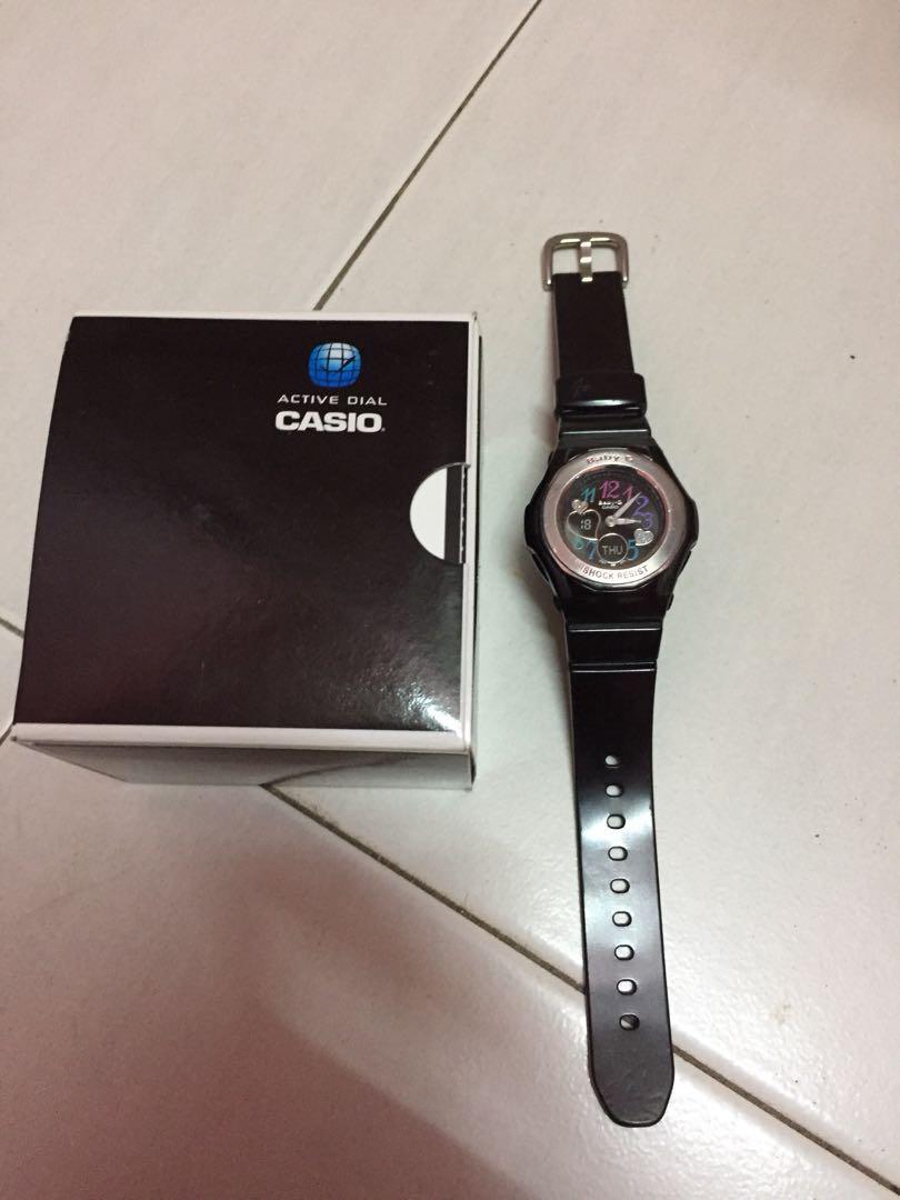 Casio Baby G Getah Wanita Jam Tangan Biru Bgd 180 2 Cek Harga Bgs 2b3 Muda Bga 101 Fesyen