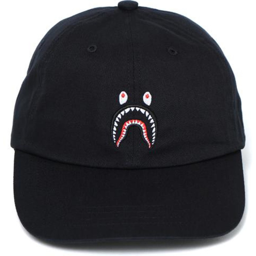 Bape Shark Panel Cap Black 8dc69ed2c0d