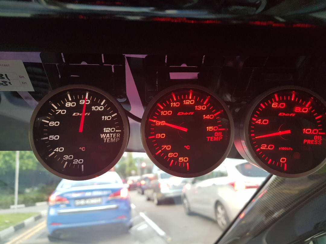 Defi Meter Gauges Bf With Cu Car Accessories On Carousell Zd Tachometer Photo
