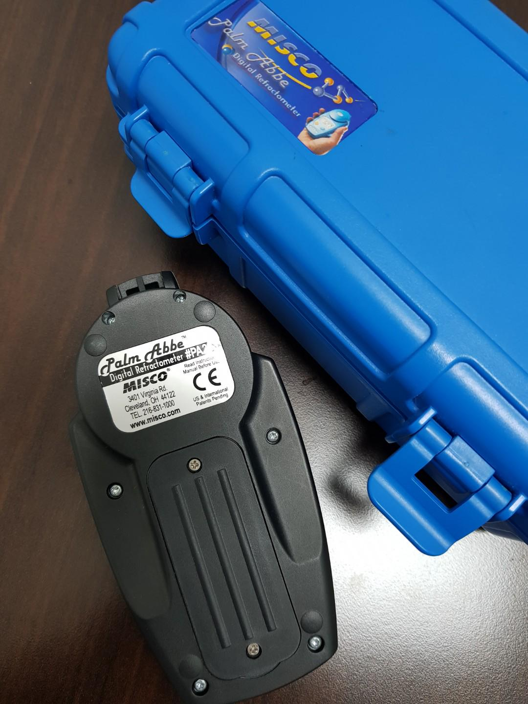 Digital Refractometer - MISCO Palm Abbe #PA203