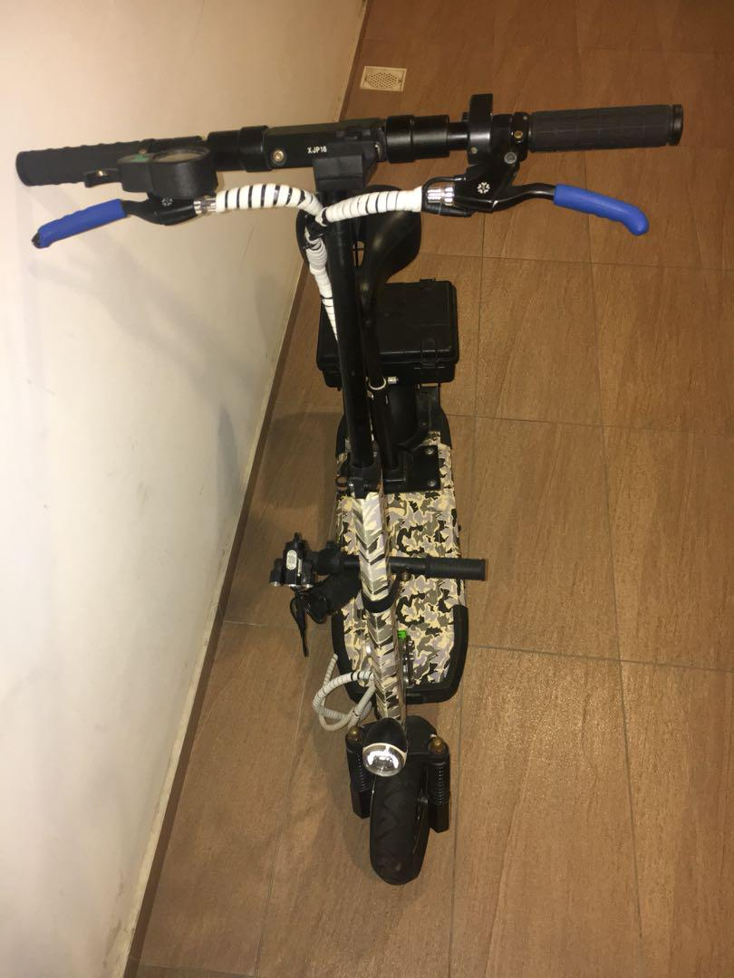 Electric scooter for sale been serviced recently