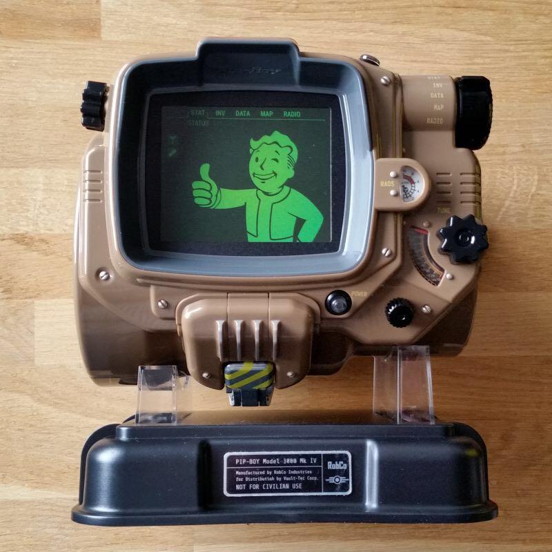 Fallout 4 Pip Boy Capsule