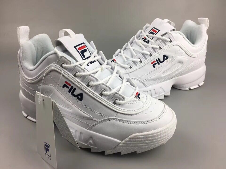 Fila Disruptor II Leather Shoes 76cd2180441