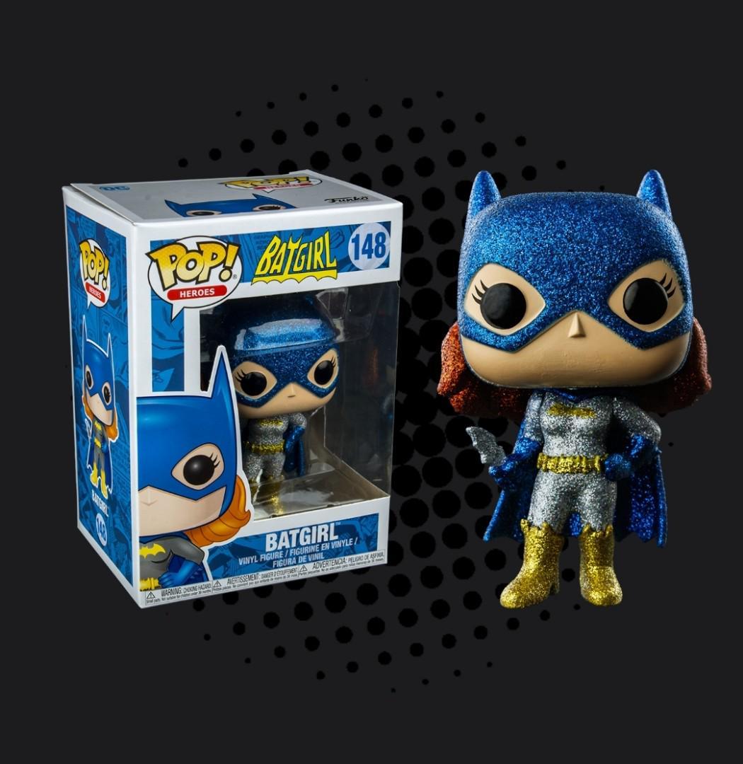 Batgirl Diamond Glitter Exclusive Pop Vinyl Batman