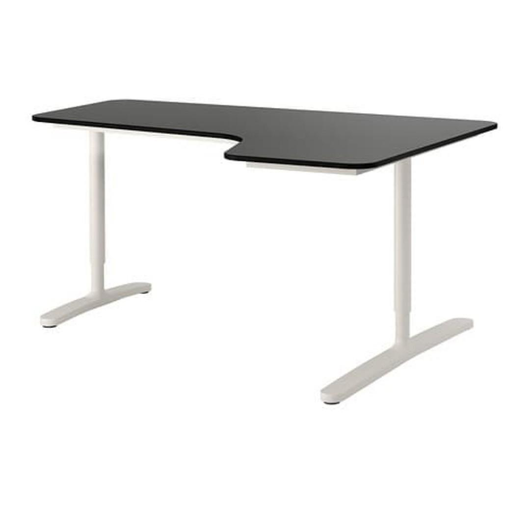 Ikea Bekant Corner Desk Right Furniture Tables Chairs On Carousell