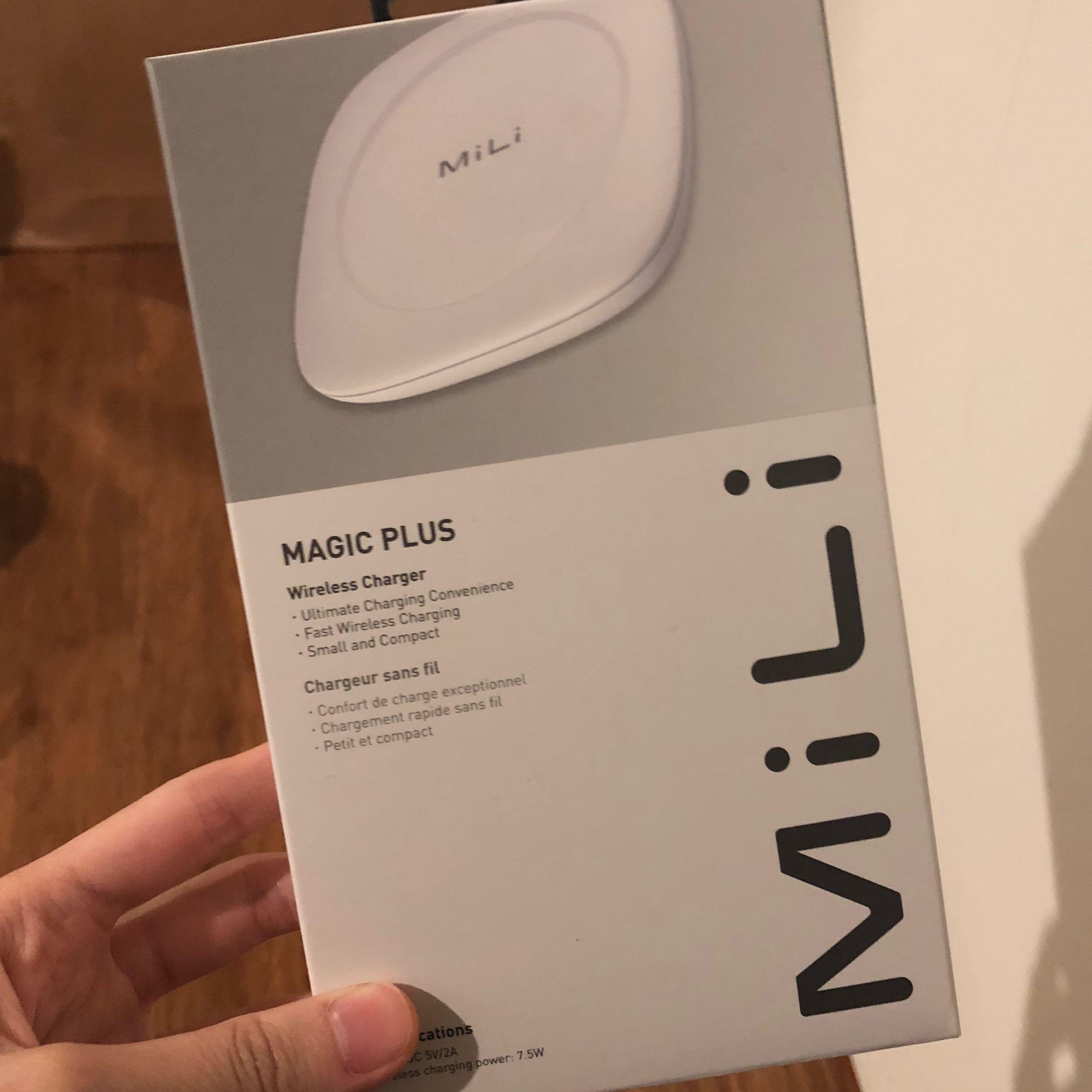 JUAL CEPAT!! MiLi Wireless Charger Magic Plus