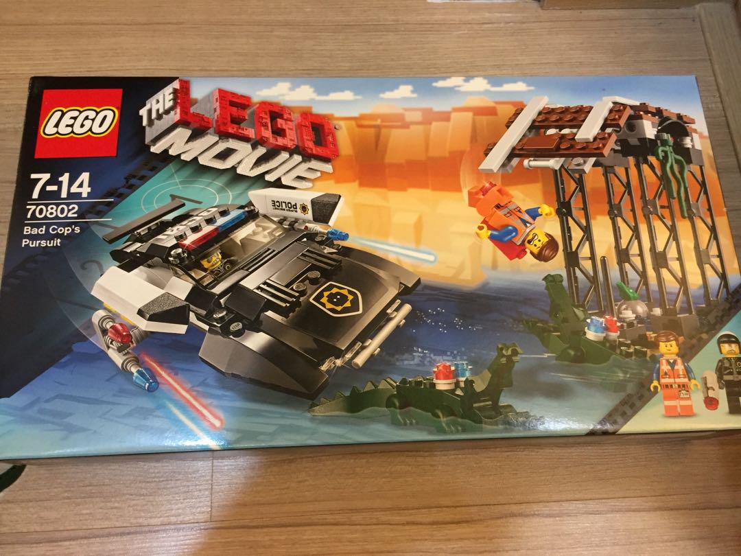 Lego The Lego Movie Bad Cop S Pursuit 70802 Toys Games Blocks Building Toys On Carousell