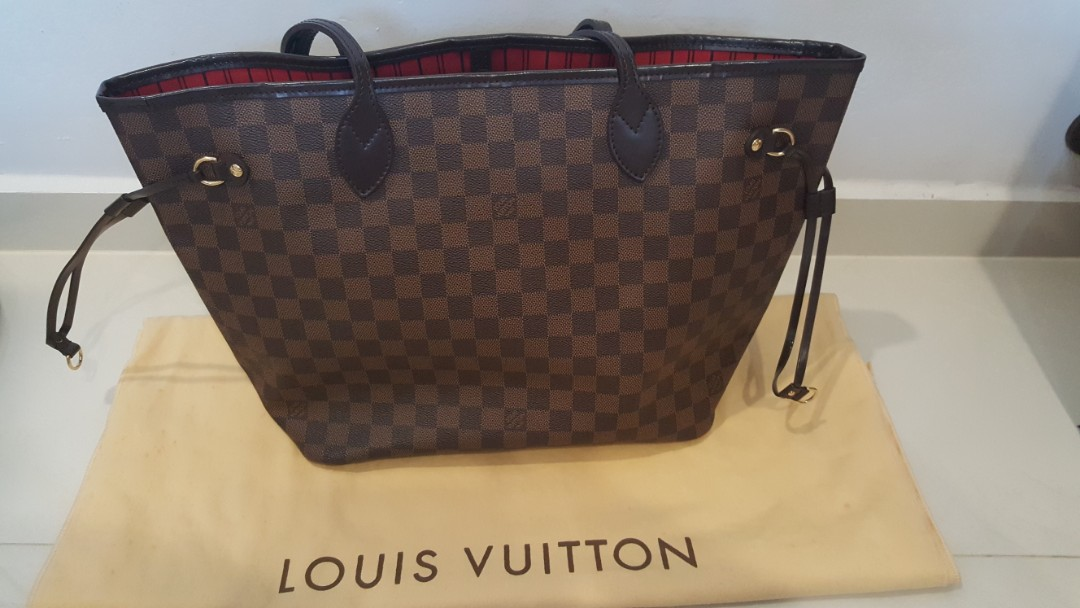 674b38003d LV Neverfull MM( RESERVED), Luxury, Bags & Wallets, Handbags on ...