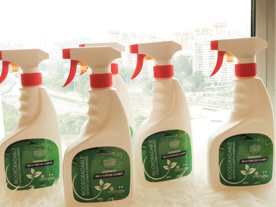 Microclear Multi Purpose Cleaner & Degreaser (Biodegradable)