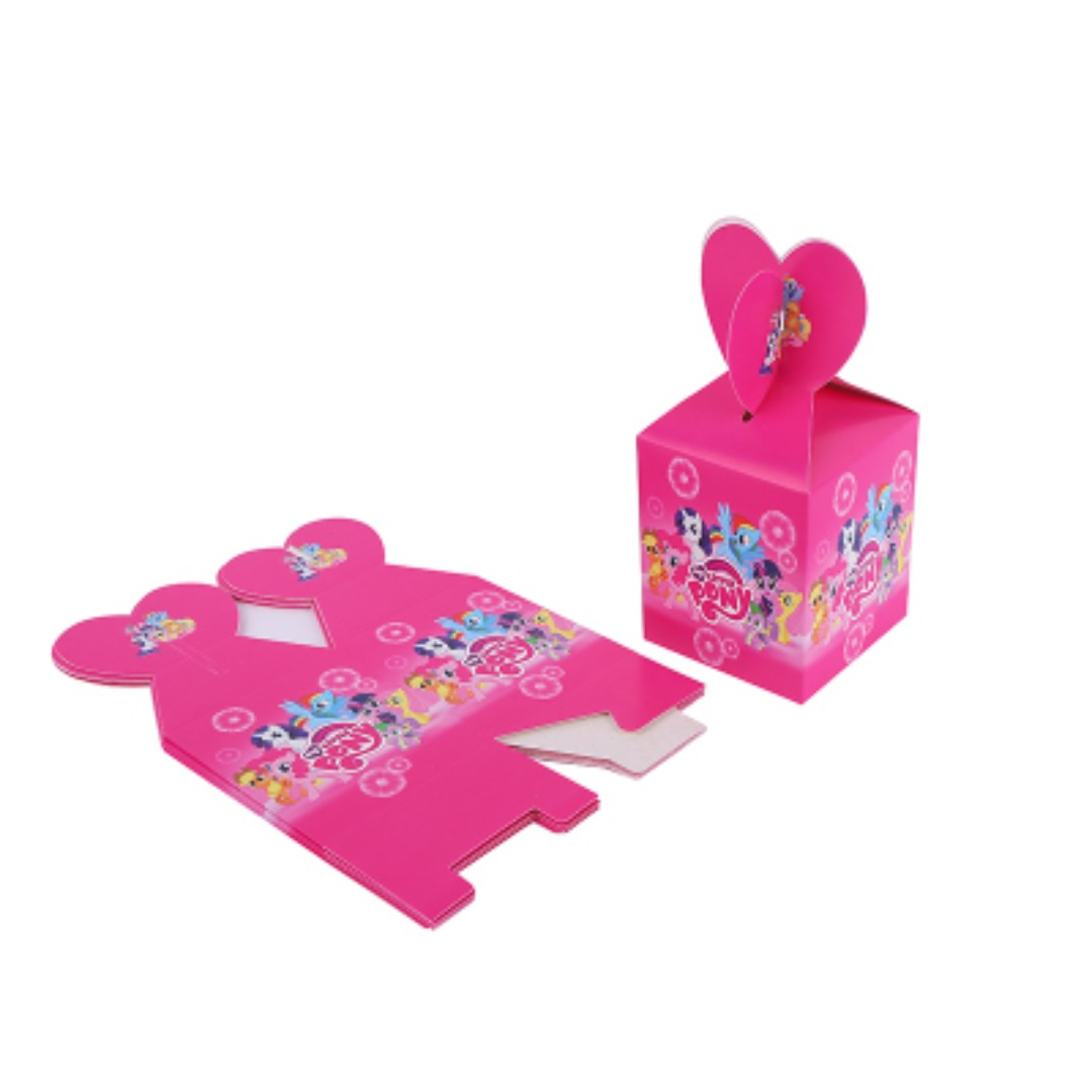 My Little Pony Gift Boxes 6 Pieces In One Set