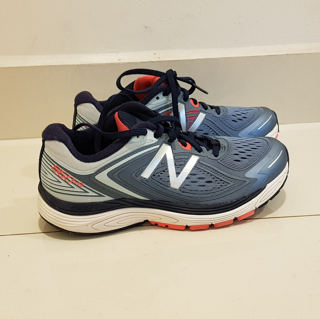 7370c9169a15f New Balance Running Shoes 860v8 Women's wide-fit, Sports, Sports Apparel on  Carousell