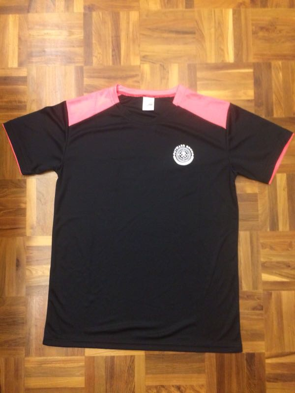 35e78727a OBS Pink and Black Shirt, Men's Fashion, Clothes, Tops on Carousell