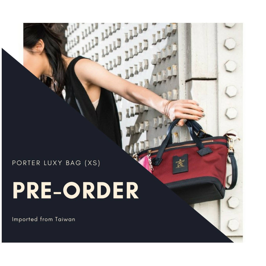 Preorder Porter Luxy Xs Series Red Blue Black Green Free Delivery Included Women S Fashion Bags Wallets Handbags On Carou