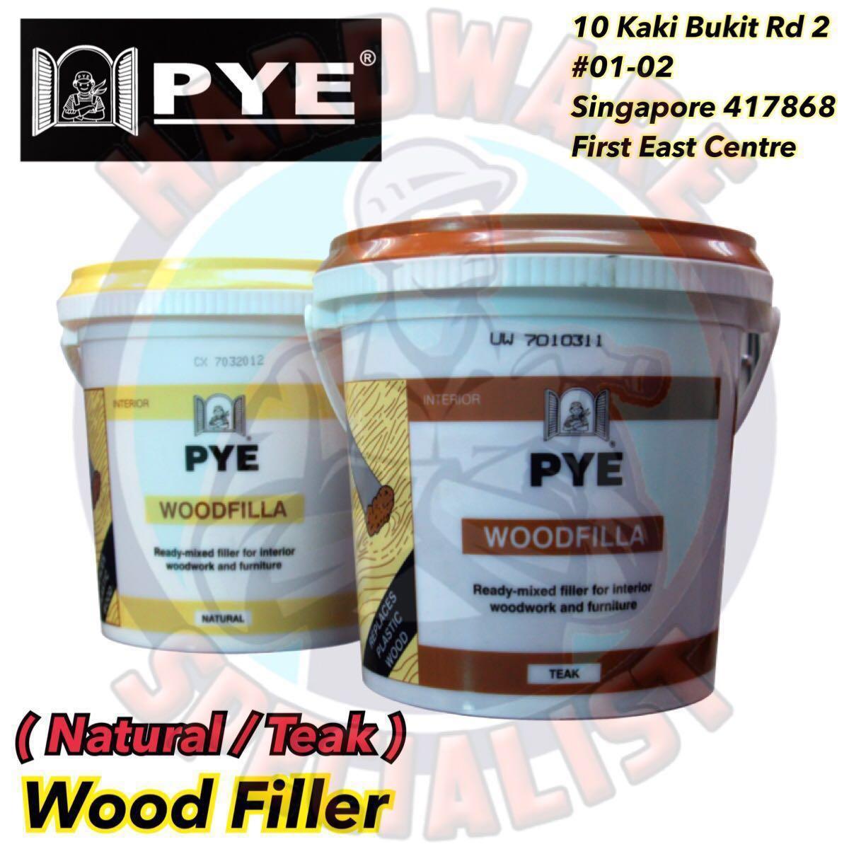 Pye Wood Filler Natural Teak 500g