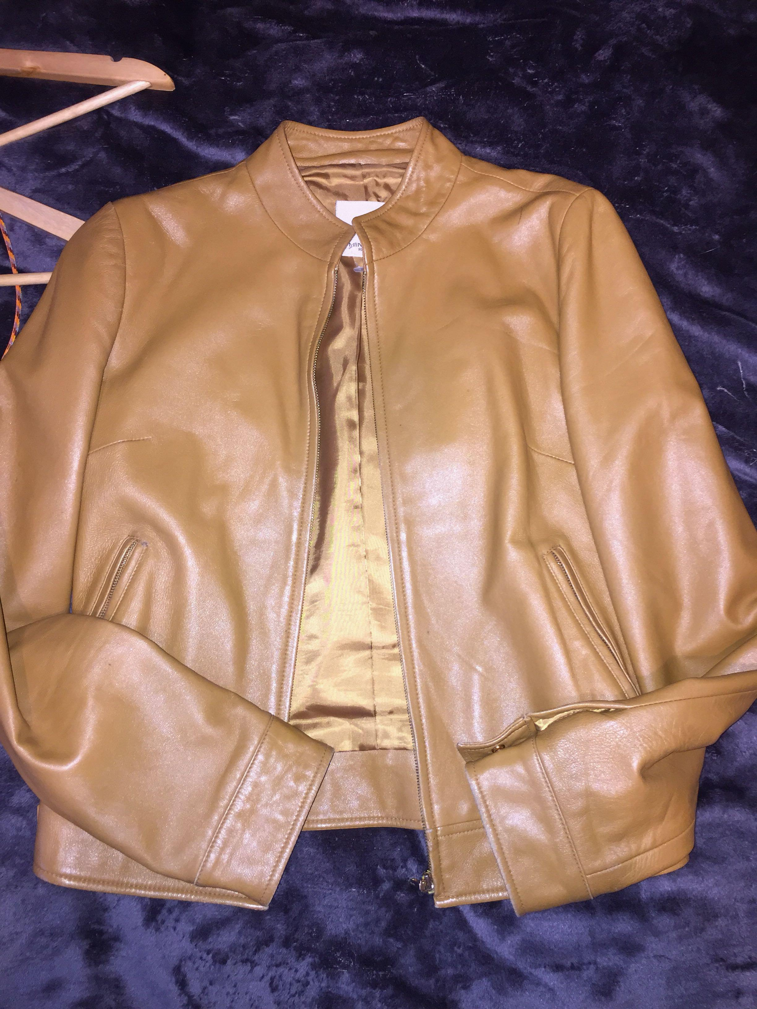 Real leather jacket from minimum