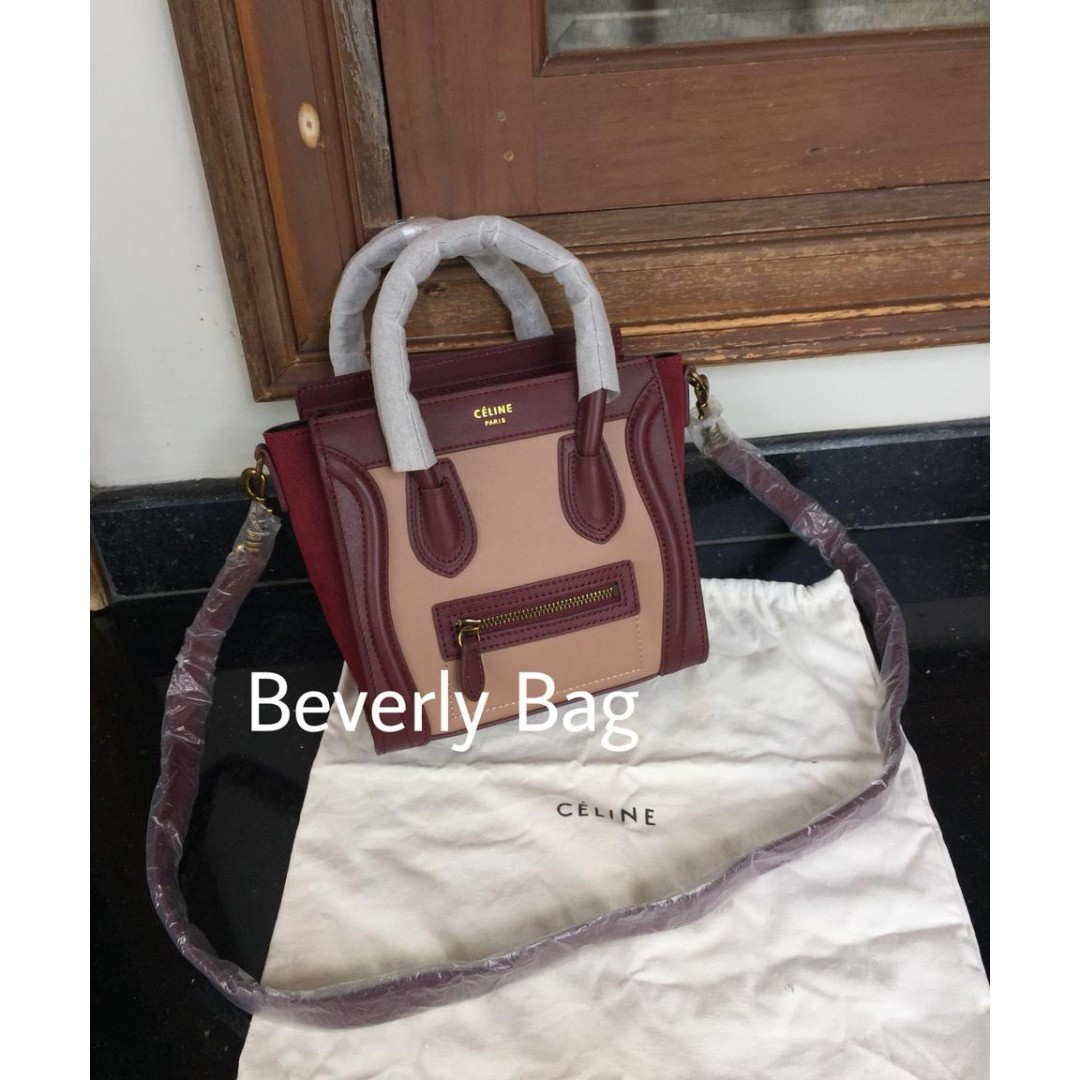 SALE jual tas Celine Nano LEATHER MIRROR - 3 Tone 351ffde34c