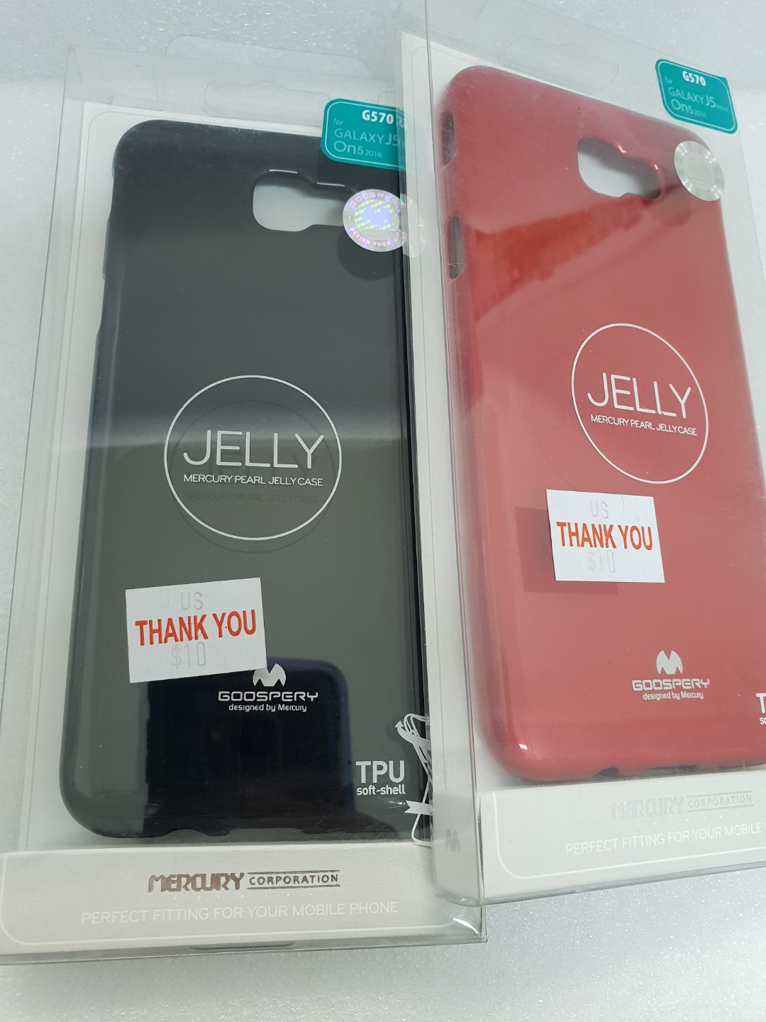 Samsung J5 Prime On5 Mobiles Tablets Mobile Tablet Mercury Jelly Case Galaxy Clear Photo
