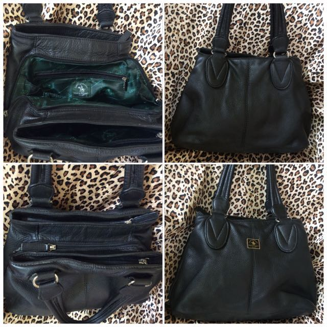 d7eb6b1f751 Santa Barbara Polo   Racquet club blk small bag, Women s Fashion, Bags    Wallets on Carousell