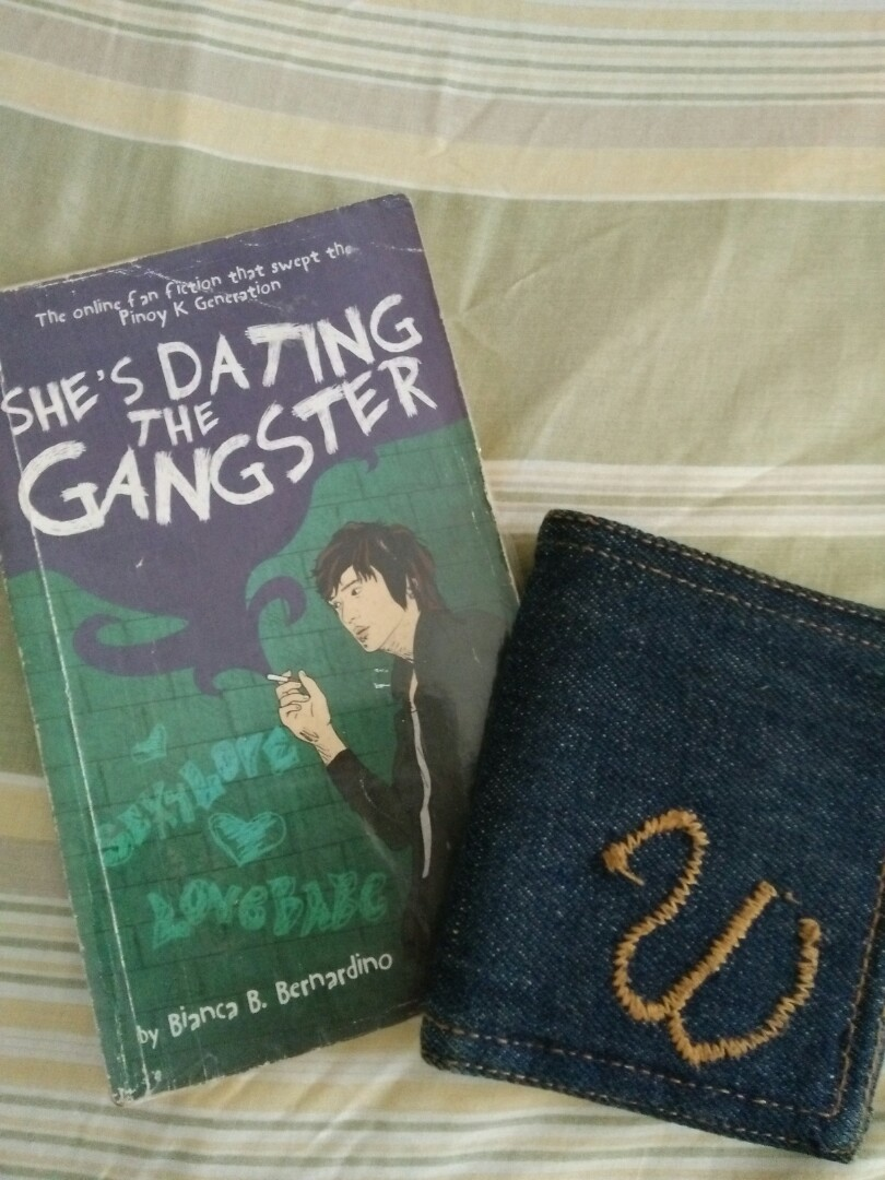 Shes dating the gangster book national bookstore logo