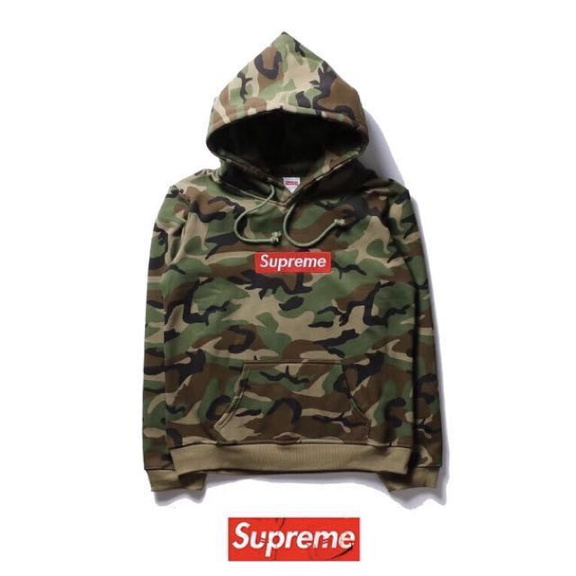 5b6232d194b79 Supreme Hoodie ( Camo ), Men's Fashion, Clothes, Outerwear on Carousell