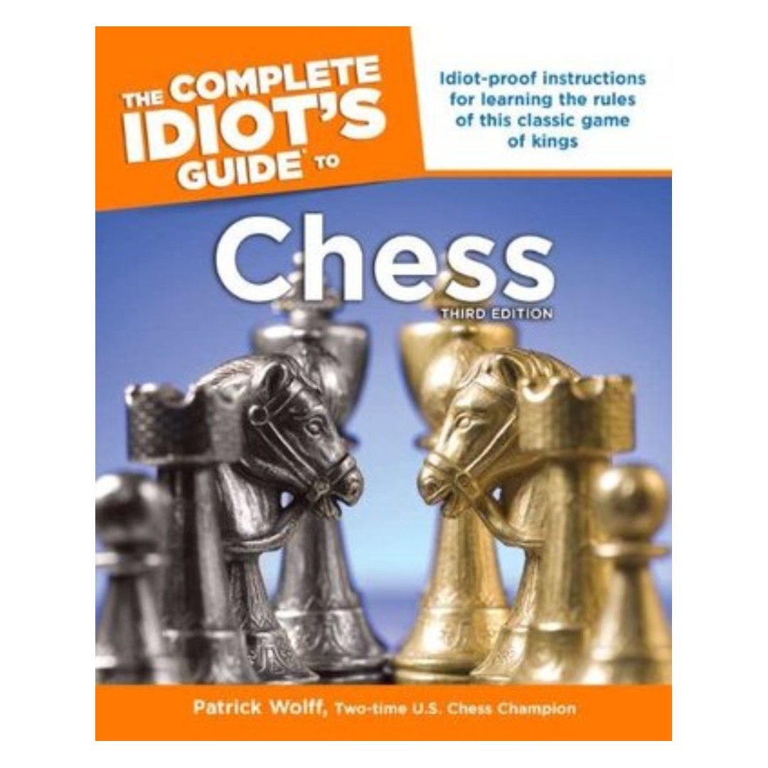 The complete idiots guide to chess books stationery fiction on photo photo photo fandeluxe Images