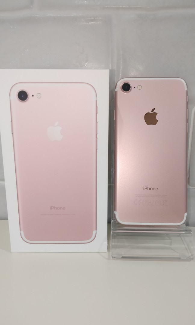 31ded209b4c Used Iphone 7 32gb rose gold, Mobile Phones & Tablets, iPhone ...