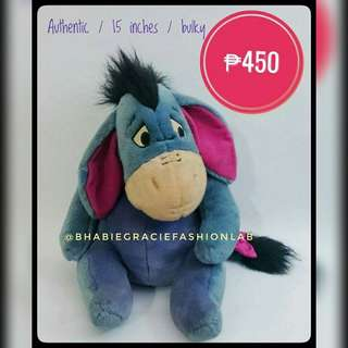 Eeyore (Winnie the Pooh) Authentic Stuffed Toy