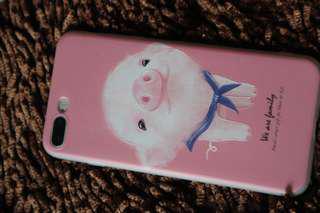 iPhone case hardcase softcase pig