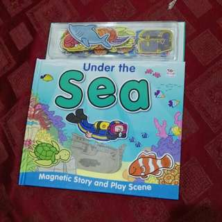 Under the sea magnetic book