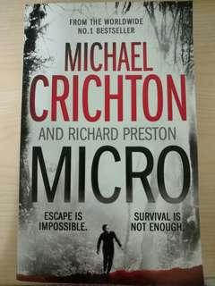 🚚 Micro - Michael Crichton and Richard Preston