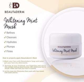 Beautederm Whitening Mint Mask